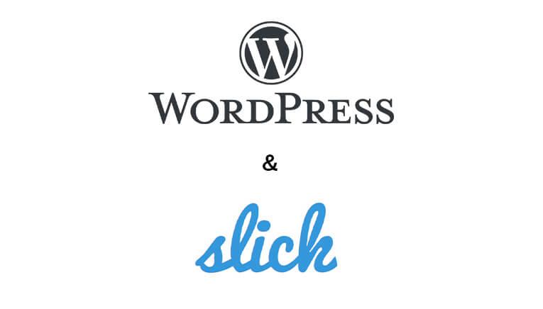 wordpress slick